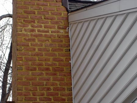 Leaning Chimney Repair Correction Re Attachment